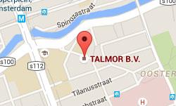 Talmor B.V. locatie maps