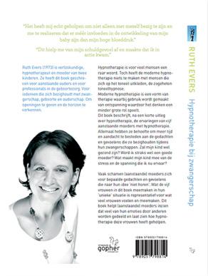 Ruth Evers hypnotherapie bij zwangersschap achterkant