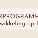 Persoonlijke Ontwikkeling op Langetermijn jaarprogramma